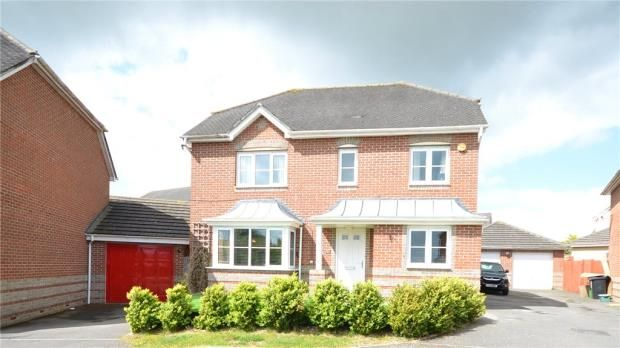 Thumbnail Detached house for sale in Chippenham Close, Basingstoke, Hampshire
