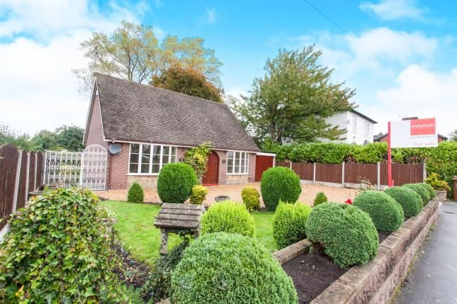 Thumbnail Bungalow for sale in Lawton Road, Alsager, Stoke-On-Trent, Cheshire