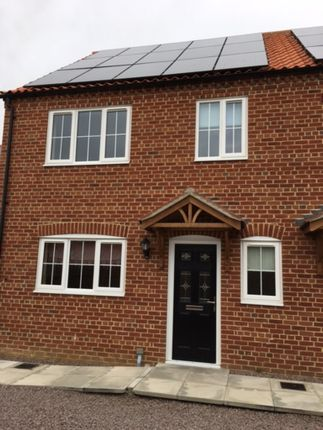 Thumbnail Semi-detached house to rent in Highfields Rise, Metheringham, Lincoln