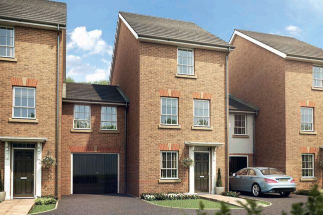 "Thumbnail End terrace house for sale in ""Belgravia"" at Mount Street, Barrowby Road, Grantham"