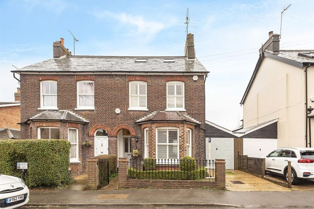 Thumbnail Semi-detached house for sale in Shakespeare Road, Harpenden