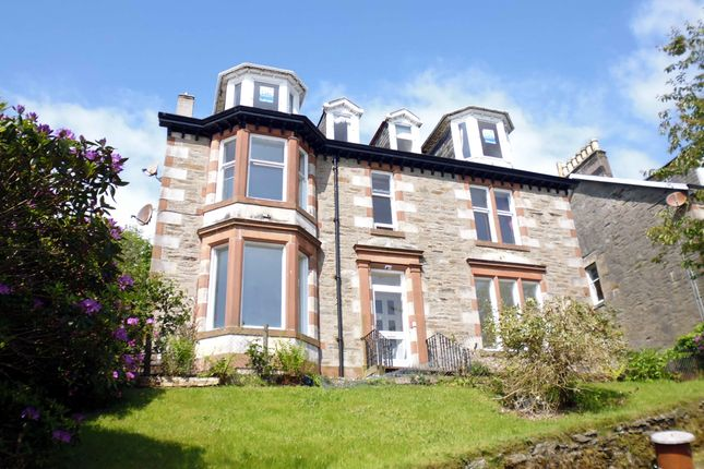 Thumbnail Flat for sale in Middle Flat, Skeoch Villa, 41, Argyle Terrace, Rothesay, Isle Of Bute