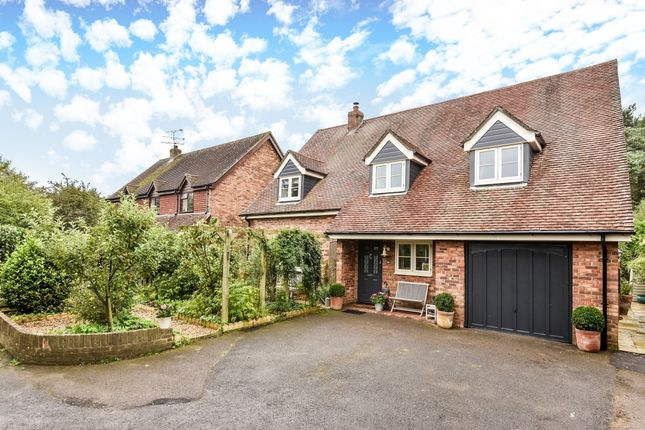 Thumbnail Detached house to rent in Eggars Field, Bentley, Farnham