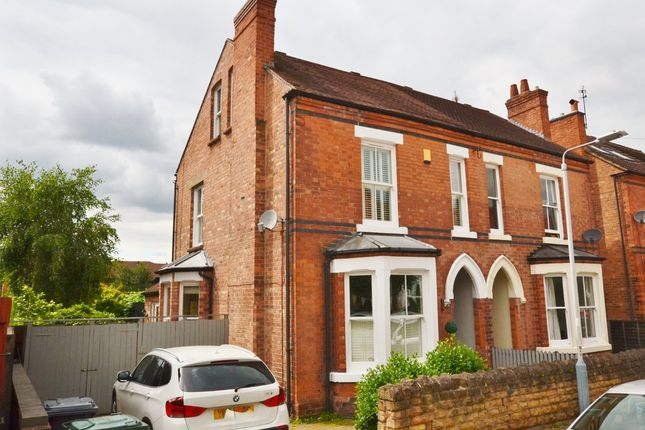 Thumbnail Semi-detached house for sale in Highfield Road, West Bridgford, Nottingham