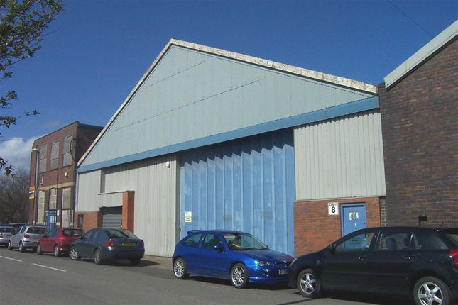 Thumbnail Light industrial to let in Woodhouse Street, Stoke-On-Trent, Staffordshire