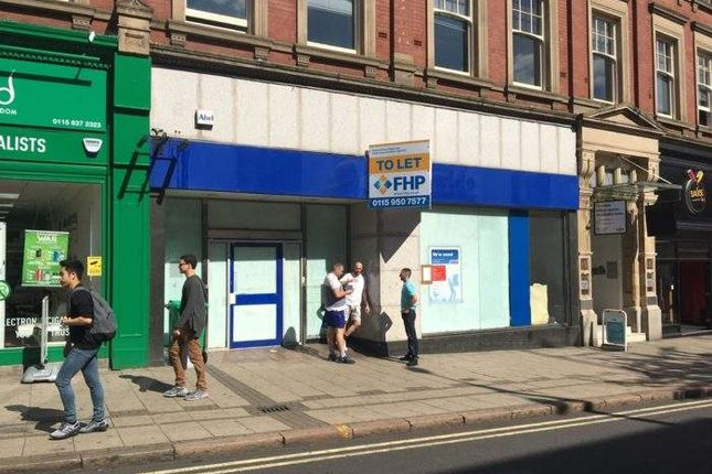 Thumbnail Retail premises to let in 11-13 Wheeler Gate, Nottingham, Nottingham