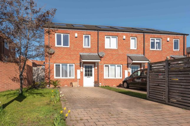 Thumbnail End terrace house for sale in Ladybank, Sunderland, Tyne And Wear