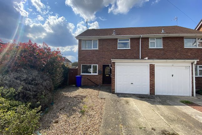 3 bed semi-detached house for sale in Harpton Close, Yateley, Hampshire GU46