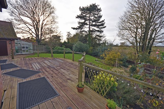 Rear Decking of Aldeburgh Road, Aldringham, Leiston IP16