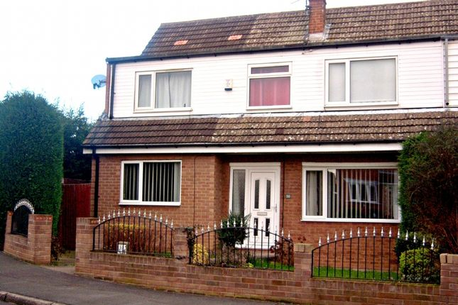Thumbnail Semi-detached house to rent in St Giles Gate, Scawsby, Doncaster