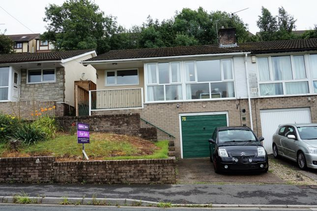 Thumbnail Semi-detached bungalow for sale in East Grove Road, Newport