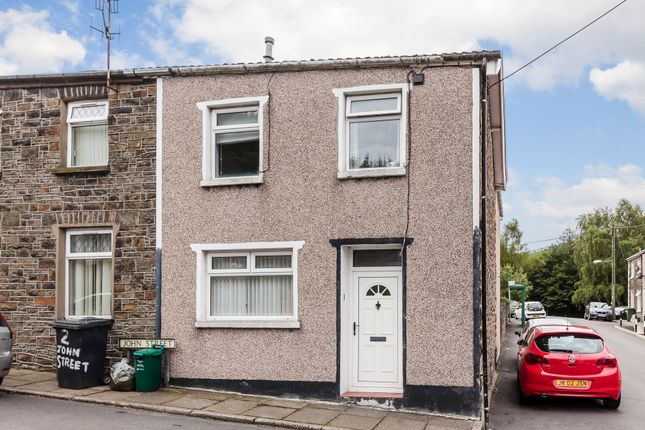 End terrace house for sale in John Street, Mountain Ash