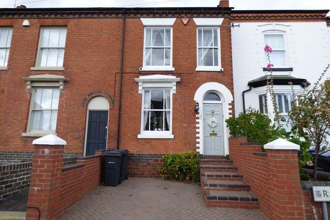 Thumbnail Town house to rent in Ravenhurst Road, Harborne, Birmingham