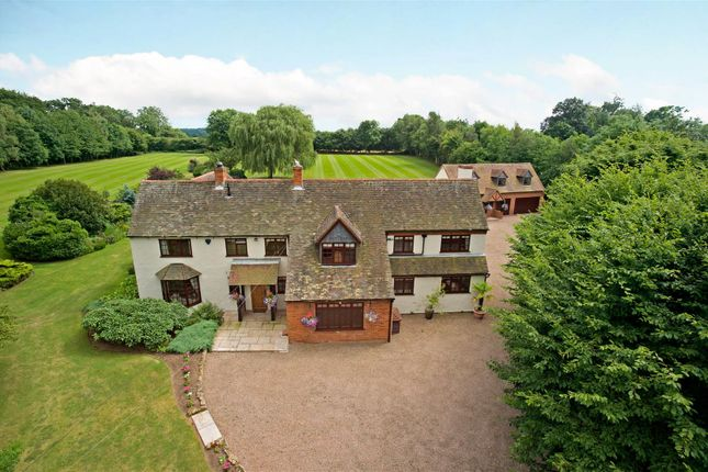 Thumbnail Detached house for sale in Hoggrills End Lane, Nether Whitacre, Warwickshire