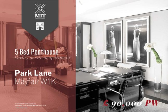 5 bedroom penthouse to rent in Park Lane, London