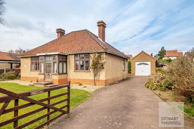 Thumbnail Detached bungalow for sale in Avalon, Church Road, Hoveton, Norfolk