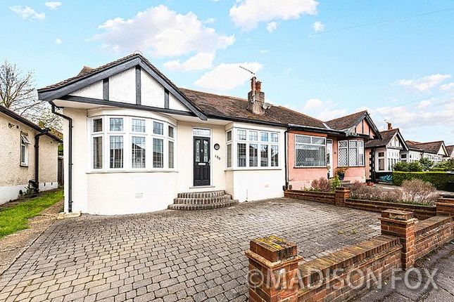 Thumbnail Semi-detached bungalow for sale in Roding Lane North, Woodford Green