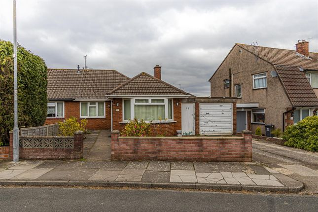2 bed semi-detached bungalow for sale in Llanedeyrn Road, Penylan, Cardiff CF23