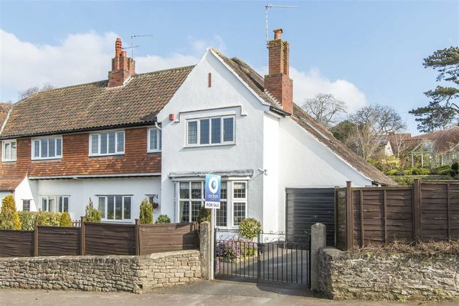 Thumbnail Semi-detached house for sale in Rodmoor Road, Portishead, North Somerset