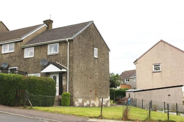Thumbnail End terrace house for sale in Arran Avenue, Port Glasgow