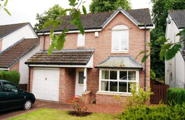 Thumbnail Detached house for sale in Kelvin Gardens, Largs, North Ayrshire