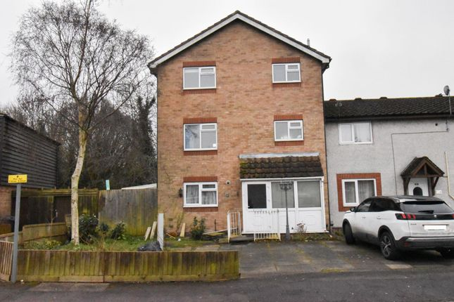 Thumbnail Town house to rent in Dane Street, Leicester