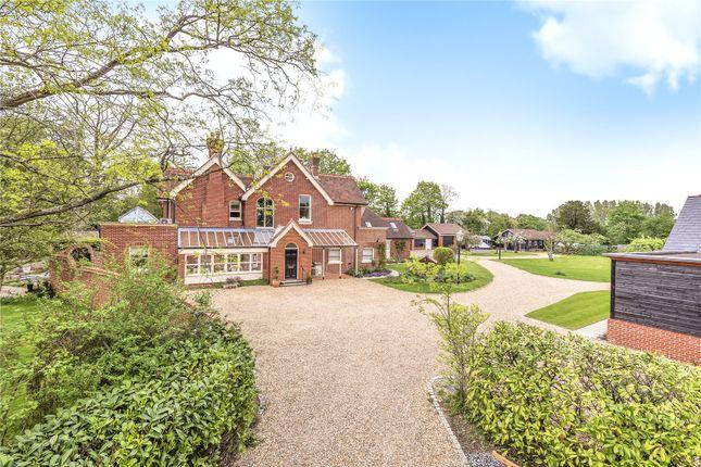 Thumbnail Detached house for sale in Calcot Lane, Curdridge, Southampton, Hampshire