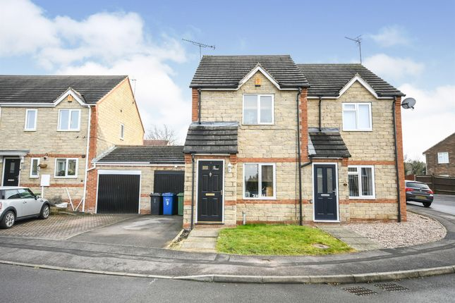 2 bed semi-detached house for sale in Howells Place, Mastin Moor, Chesterfield S43