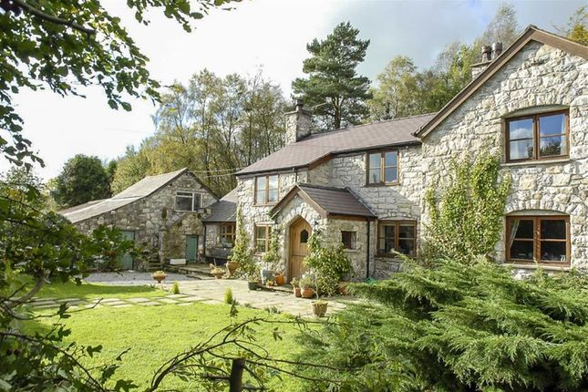 Thumbnail Detached house for sale in Pen Y Coed, Pant Du Road, Eryrys, Mold