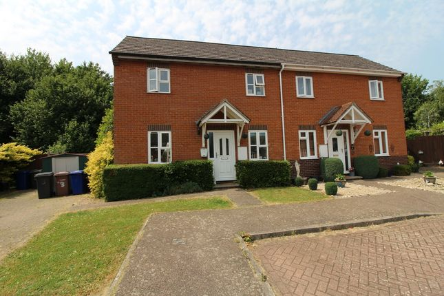 Thumbnail Semi-detached house for sale in Lutus Close, Clare, Sudbury