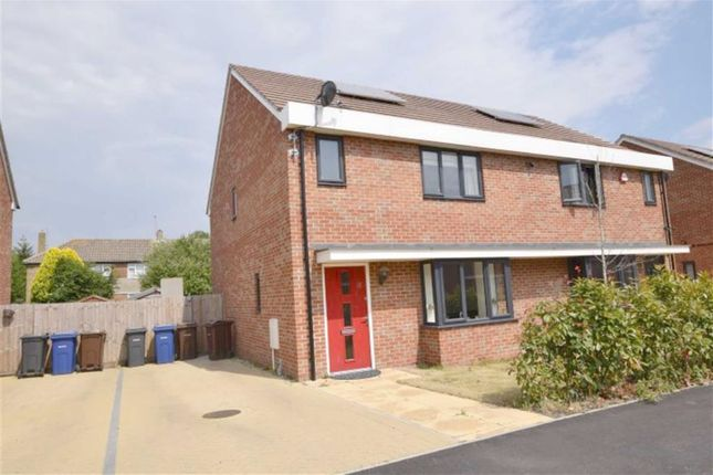 Thumbnail Semi-detached house for sale in Sandpiper Close, East Tilbury, Essex