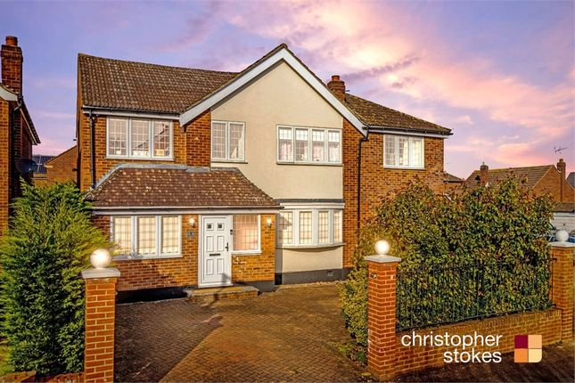 Thumbnail Detached house for sale in Brinley Close, Cheshunt, Hertfordshire