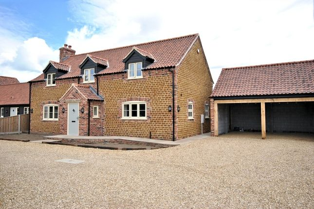 Thumbnail Detached house for sale in Chapel Road, Pott Row, King's Lynn