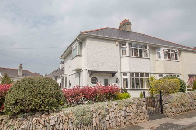 Thumbnail Semi-detached house for sale in Venn Crescent, Hartley, Plymouth
