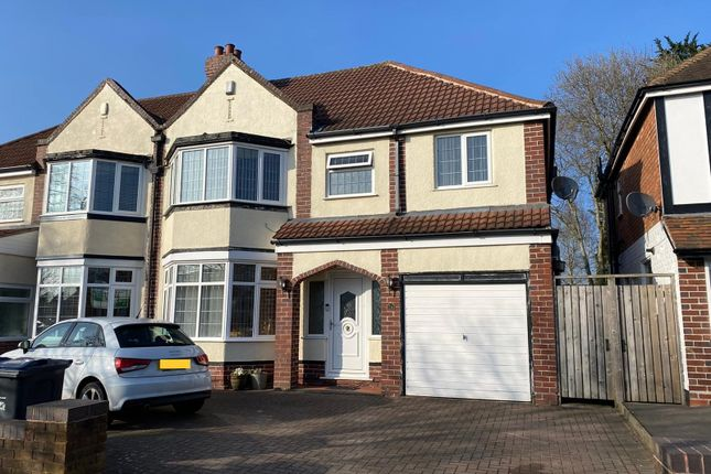 Thumbnail Semi-detached house for sale in Robin Hood Lane, Hall Green, Birmingham