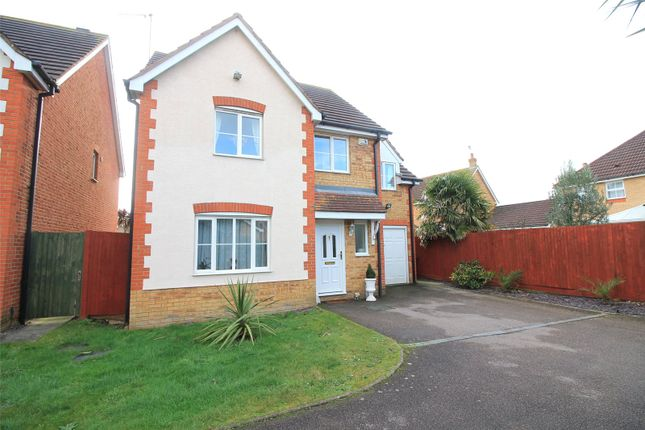 Thumbnail Detached house for sale in Moonfleet Close, Sittingbourne, Kent