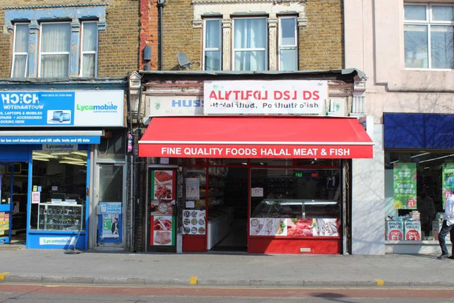 Thumbnail Retail premises for sale in Hoe Street, London