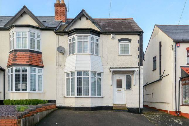 Thumbnail Semi-detached house for sale in Monmouth Road, Bearwood, West Midlands