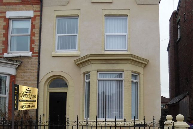 Thumbnail Shared accommodation to rent in Harley Street, Walton, Liverpool