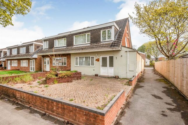 Thumbnail Semi-detached house to rent in Piccadilly Close, Chelmsley Wood, Birmingham