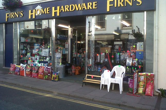 Front External of Firns Home Hardware Ltd, 4 Station Street, Cockermouth, Cumbria CA13