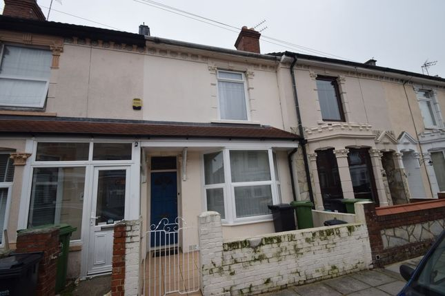 Thumbnail Terraced house to rent in Tennyson Road, Portsmouth