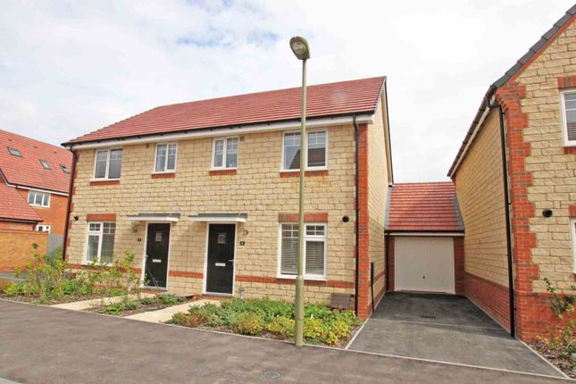 Thumbnail Semi-detached house to rent in Cornflower Close, Harwell, Didcot