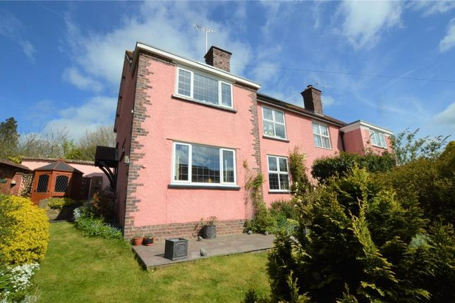 Thumbnail Semi-detached house for sale in Garden Croft, The Burrowe, Crediton, Devon