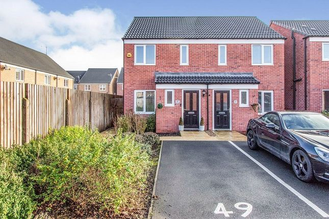Thumbnail Semi-detached house to rent in Black Hereford Way, Retford