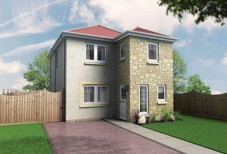 Thumbnail Detached house for sale in The Alamanda, Off Cupar Road, Leven, Fife