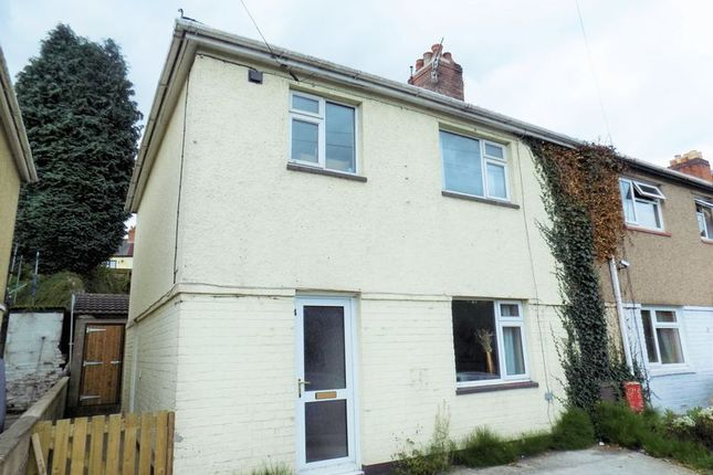 Thumbnail Semi-detached house to rent in Mountain View, Pwllypant, Caerphilly