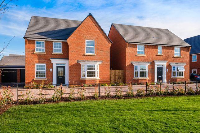 "Thumbnail Detached house for sale in ""Holden"" at Rush Lane, Market Drayton"