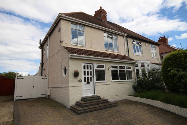 Thumbnail Semi-detached house for sale in Elmsleigh Gardens, Cleadon, Cleadon