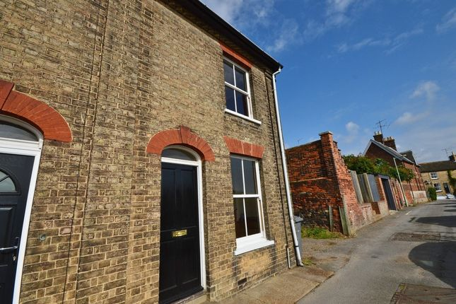 Thumbnail End terrace house to rent in Alma Place, Saxmundham
